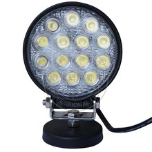 offroad 4x4 vehicle accessories 42w 4x4 led work light 4.5inch round led auxiliary lamp