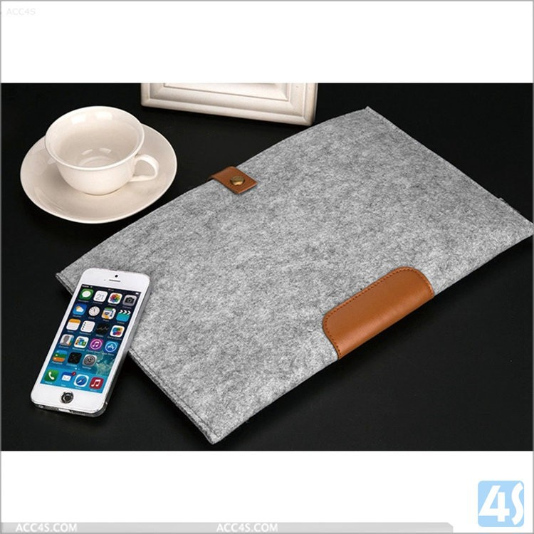 felt case for Macbook pro, for macbook pro wool felt protective sleeve bag case