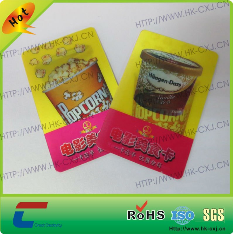 Changing Images 3D Lenticular Card