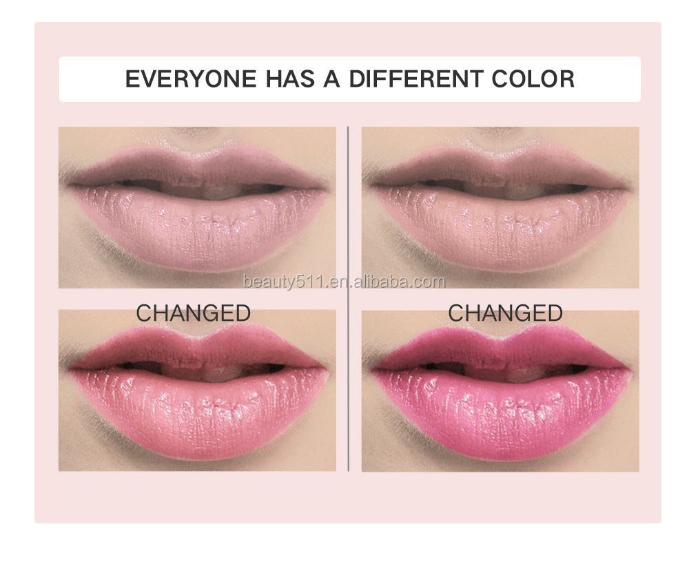 30colors Long lasting Waterproof Transparent jelly Moisturizing Discolour Lipstick