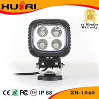 Long lifetime 40w c ree spot/flood/combo car accessories Working led lights offroad ATV SUV 4X4 auto led working light for car