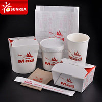 Sunkea produced disposable food catering boxes
