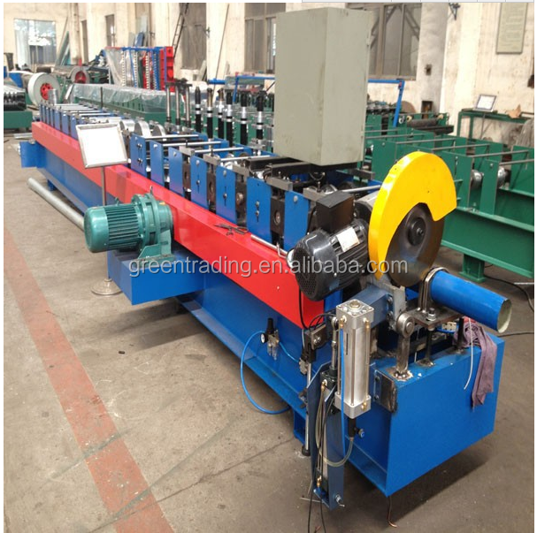 decorative building material lamp tube shutter cold roll forming machine