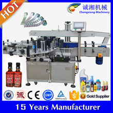 China suppliers square bottle manual label applicator machine(trade assurance)