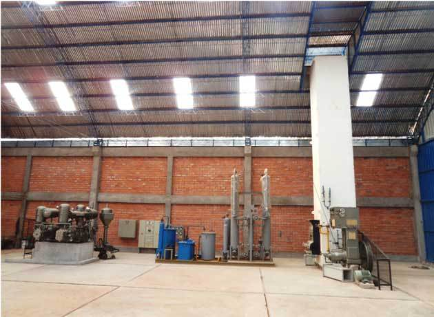 Low Energy Consuming Oxygen Cylinder Filling Plant