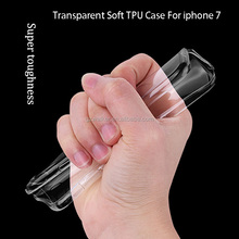 Free Sample Mobile Cover Ultra-thin Transparent Soft TPU Phone Case For iphone 7 6s 6 5