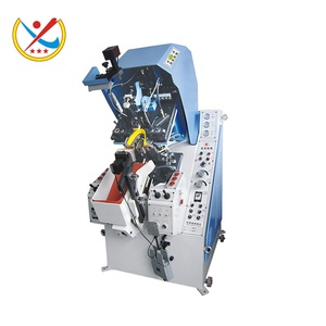 JD-858D fully automatic claw type 9 pincers hydraulic toe-lasting machine in low price