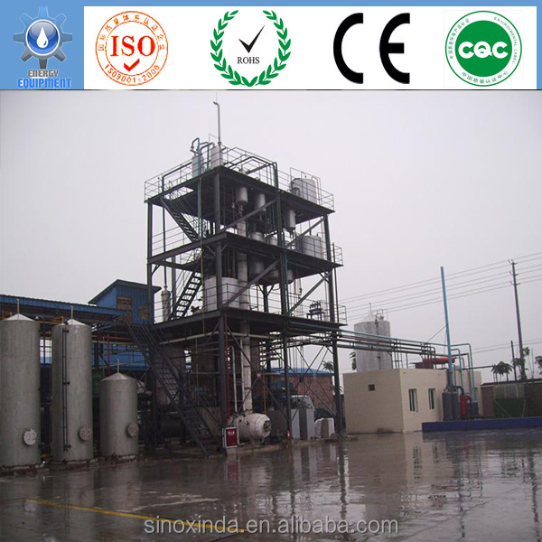 used cooking oil recycling project by ester exchange reaction