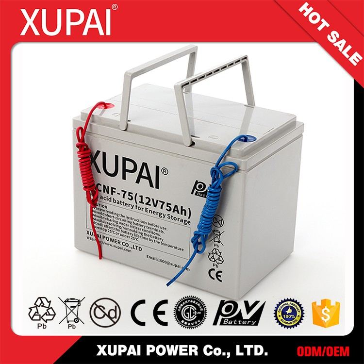 6-CNF(J)-75 12v 75ah lead acid battery solar panel battery for energy storage lowe price