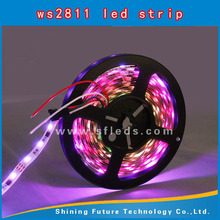 ws2811 5050 smd rgb led chip programmable rgb led strip SMD5050 WS2812B w2811 addressable rgb led strip