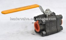Forged steel floating 3-PC Ball valve