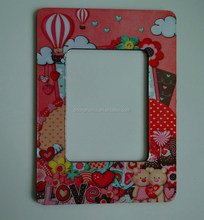 Lovely bears design fridge magnet photo frame