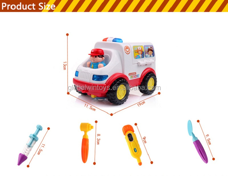 HUILE 836 doctor ambulance educational kid toy early learning whole kit funny brinquedos  for kids gift.jpg