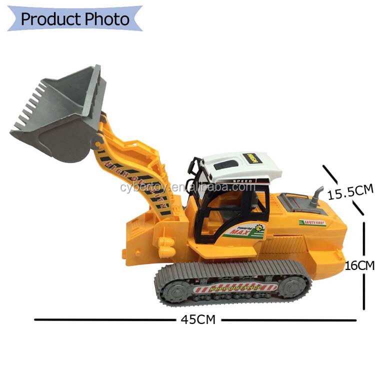 Best Construction Toys And Trucks For Kids : Boys popular friction power construction truck
