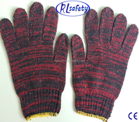 LINYI beautiful mixed color cotton gloves