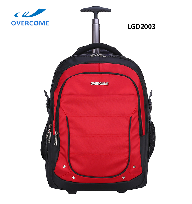 Wheeled Trolley Business Traveling Laptop Computer Backpack Bag