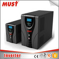 low frequency 1000W DC12V to AC230V power Inverter with LCD display