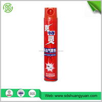 750ml-1500ml Aerosol Insecticide Spray factory export directly