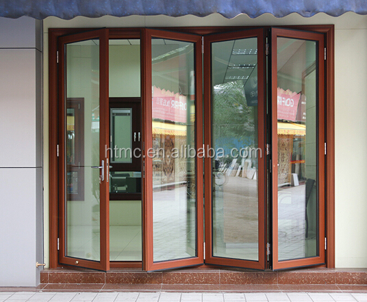 aluminium double glazed bifold interior doors for sale