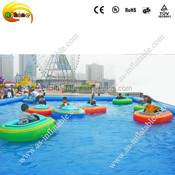 Kids Electric Motor Boat Battery Inflatable Bumper Boat