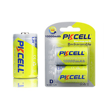 Hot sale Shenzhen NI-MH rechargeable batteries D size 10000mAh