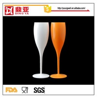 Professional factory offer kinds of unbreakable Drinking Glasses, plastic wine glass cup
