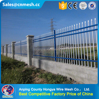Powder coated 4x4 construction temporary wire mesh fence panels