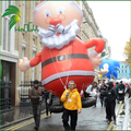 Giant Helium Moving Santa Claus, Parade Inflatable Christmas Santa Claus For Advertising