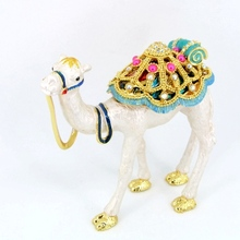 Wholesale manufacturers in china enamel camel jewelry box arabic souvenirs WS3777