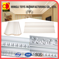 New China Products decorative 3d wall panel moulding/PU Cornice Moulding