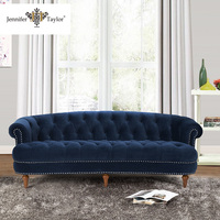 Furniture factory with 25 years experience large chain store supplier 3 seater royal style sofa