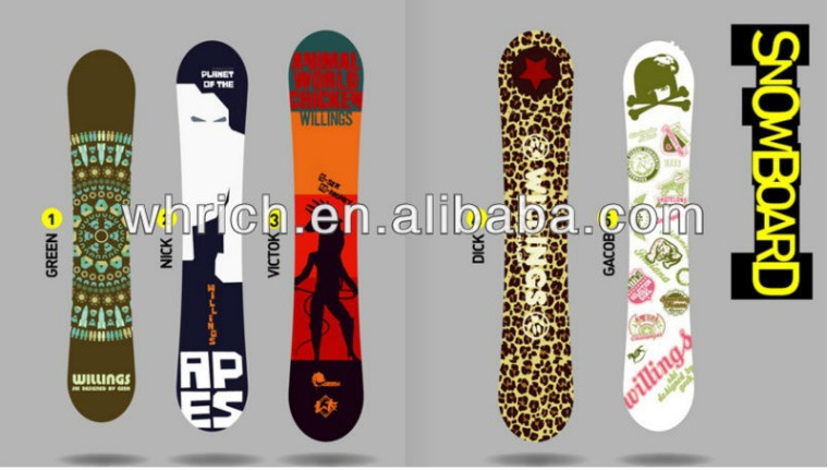 Quality snowboarding for Winter sports Outdoor Goods wholesale snowboard/ snowboard burton