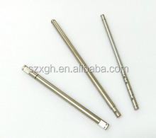 Alibaba China Dia 10mm*150mm knurling precision cnc machining spline shaft