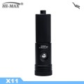 Diving equipment list led long range rechargeable torch
