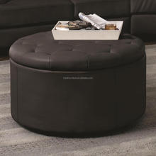 Supply contemporary leather antique storage ottoman