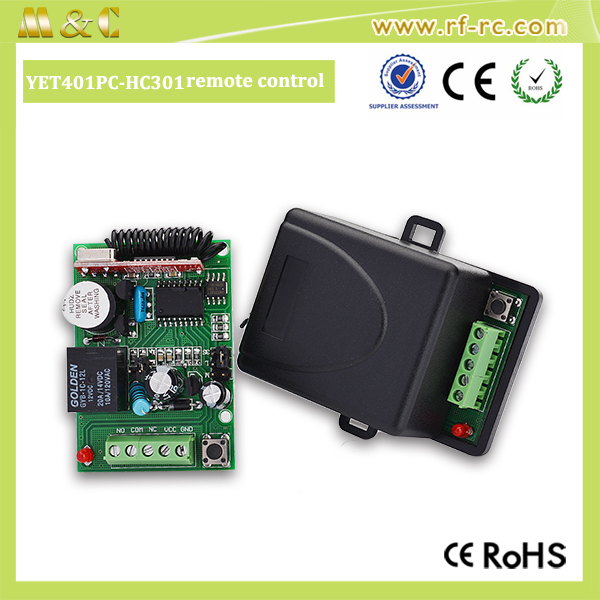DC9V-24V remote controller 2 channels receiver for garage doors opener
