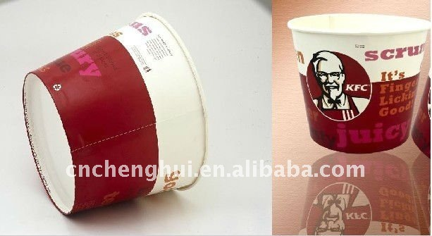 85oz Paper Fried Chicken Bucket