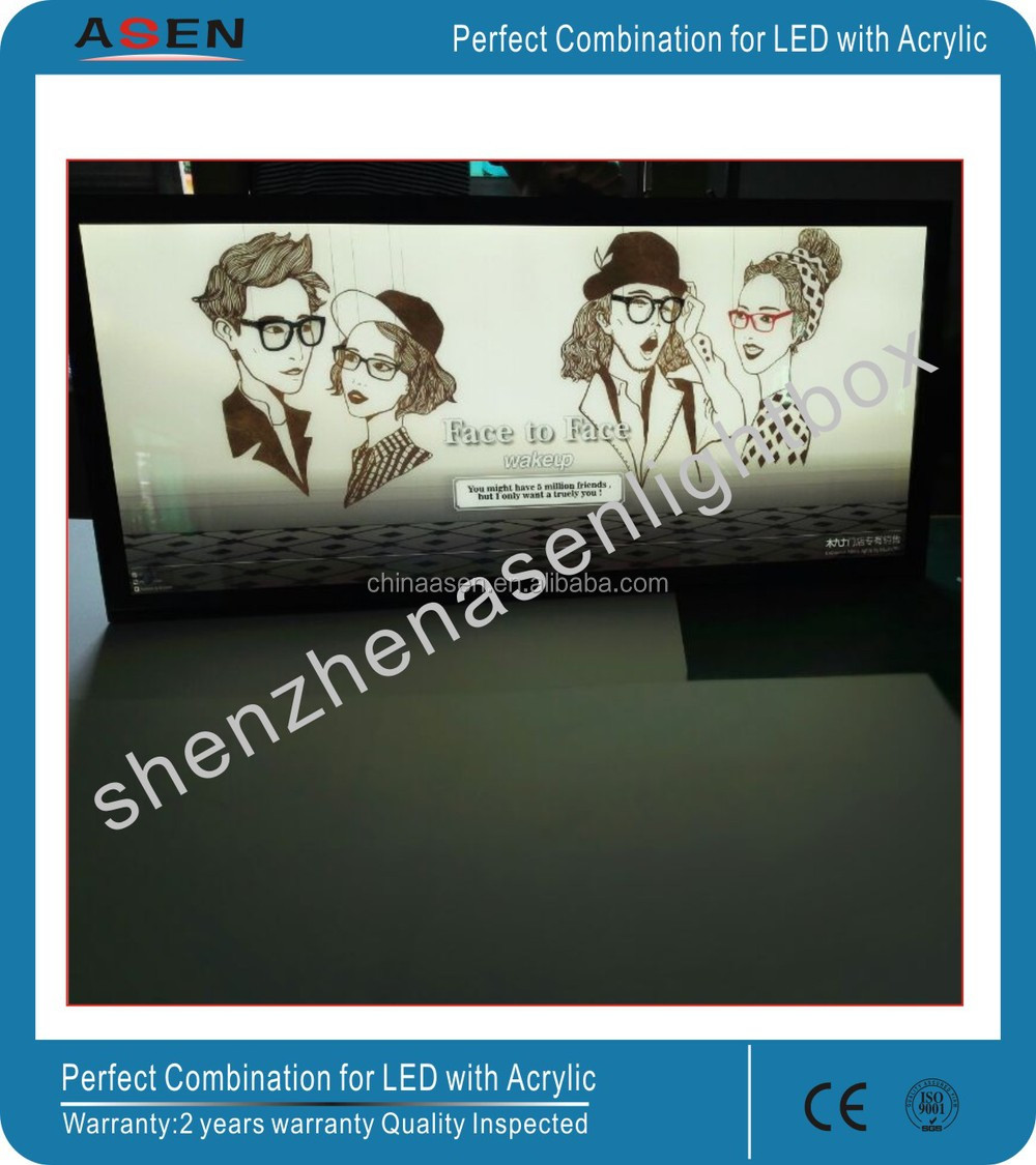 Super Thin 18mm LED Edge-lit Magnetic Light Box A1