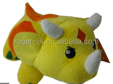 ICTI Create Your Own CE EN71 Plush Toy Fashion Custom Plush Dinosaur King Toys Stuffed toy