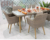 hot sale restaurant used rattan dining room table and chair set