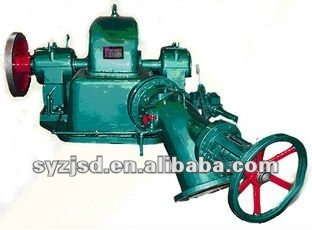 Inclined jetting water turbine turgo type with hydro generator electric power/hydroelectricity