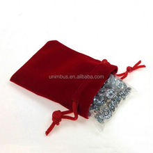 advertisement custom made small velvet pouches for jewelry,hot sale black jewelry velvet pouch with silver printing