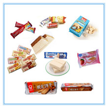 Fully and Semi Automatic Pillow Wafer Biscuit Packing Machine