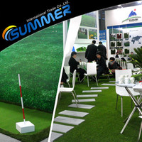 Hot sale green synthetic grass turf artificial grass for landscaping