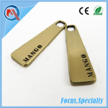 Hot Custom Metal Zipper Pull Wholesale For Garment