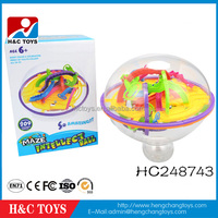 209 steps intellect 3D maze ball game,magical intellect ball baby toy HC248743