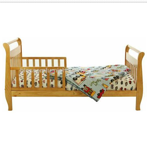 High Quality Wooden Kids Toddler Bed