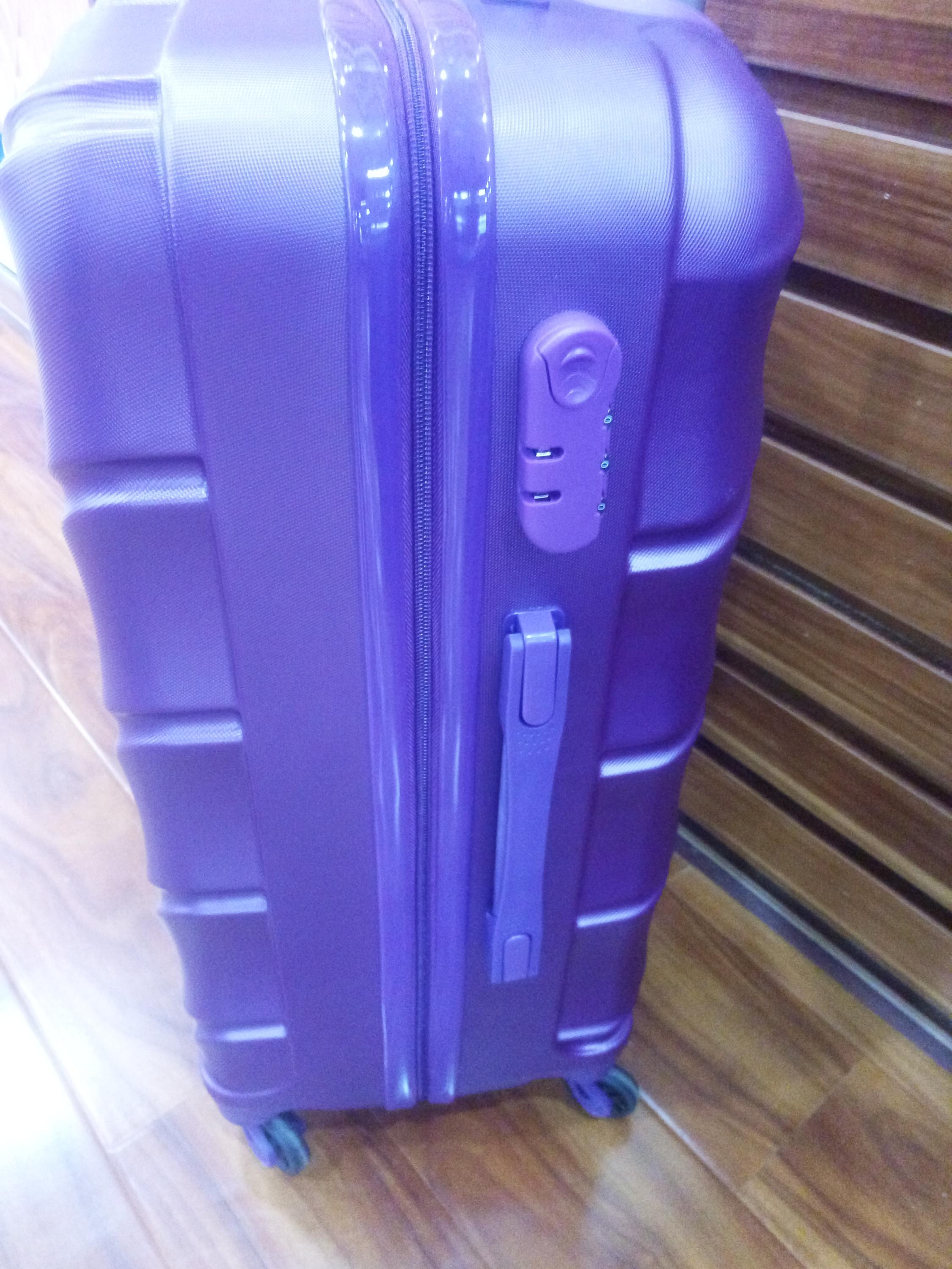ABS luggage case women trolley case luggage bag durable travel luggage bag