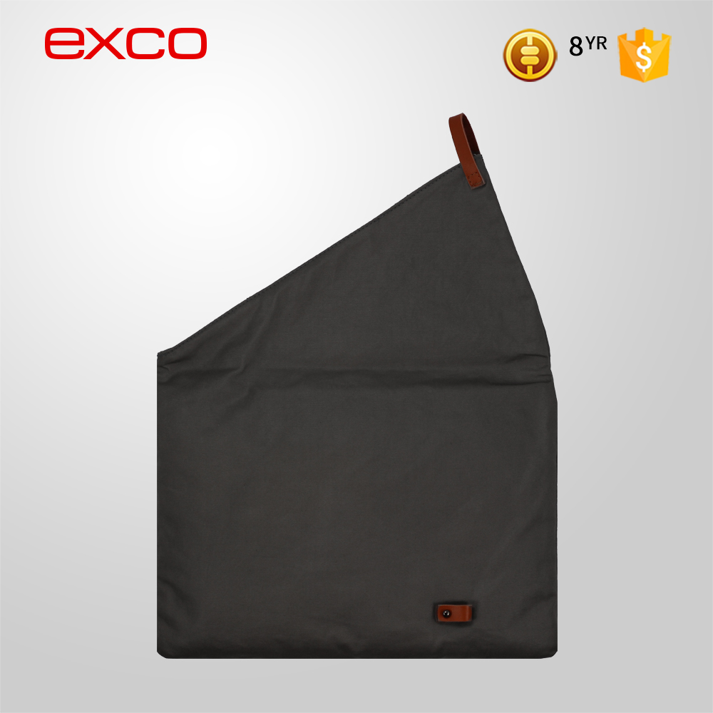 EXCO customized Fashion Grey waterproof Laptop sleeve bag for laptop