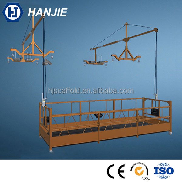 Mobile scaffold zlp500/ 630 electric sky climber platform for construction